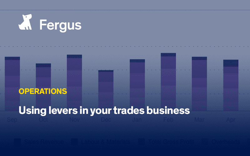 Using levers in your trades business