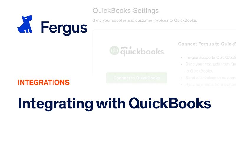 Integrating with QuickBooks