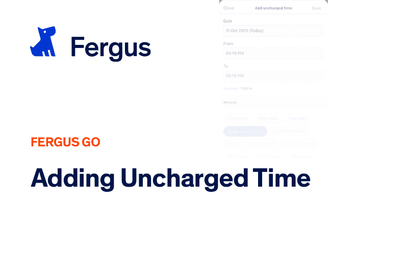 Adding Uncharged Time Entries - Fergus Go