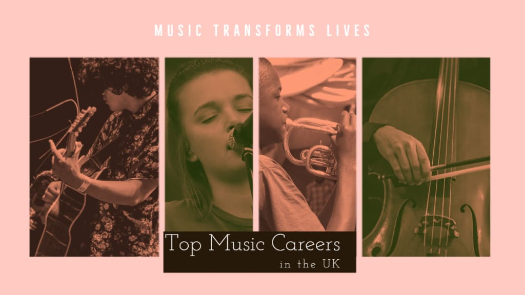 6 Top paid music careers in the UK