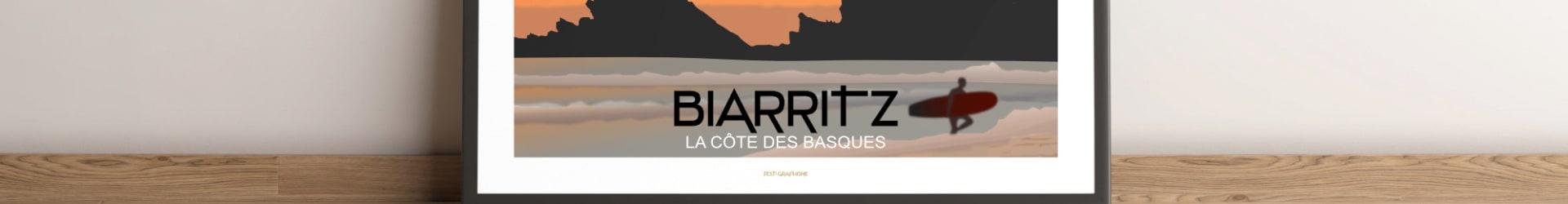 BIARRITZ Côte des Basques – Horizontal