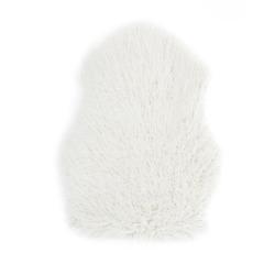 Lammeskinn kunstig hvit 60x90