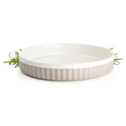Ildfast form Bistro rund beige Ø:26 cm