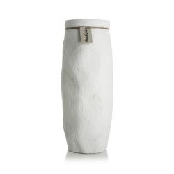 Vase hvit Viona H:35 Ø:14 cm