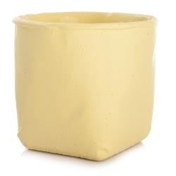 Urtepotte sement gul H:12,5 cm