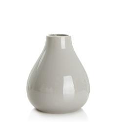 Vase grå dolomite H:14 Ø:12 cm