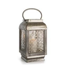 Lykt Indiska m/hank og ornamenter antikk 30,5 cm