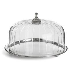 Fat m/glasslokk Ø:30 cm
