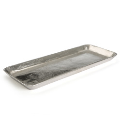 Fat Sølvi rektangulært 39x15 cm