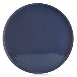 Fat metall Ø:46 cm blå
