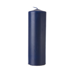 Enjoy kubbelys Ø:6 H:18 cm marineblå