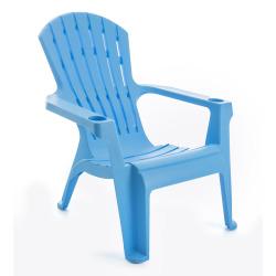 Plaststol Bali lys blå