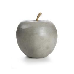 Dekoreple H:14 cm keramikk grå
