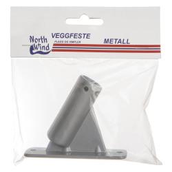 Veggfeste for balkongflagg metall