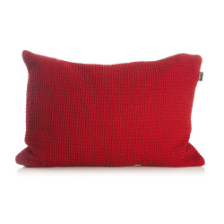 Pute Lill i vaffelmønster 40x60 cm rød