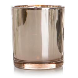 Telysglass rosegull H:11 cm