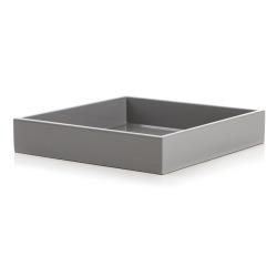 Serviettholder grå H:3,5 L:19 D:19 cm
