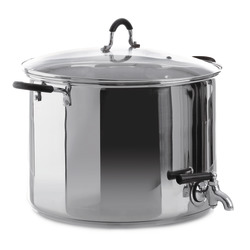 Hyttekjele 22 liter med tappekran