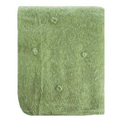 Pledd Songvaar grønn 125x150 cm