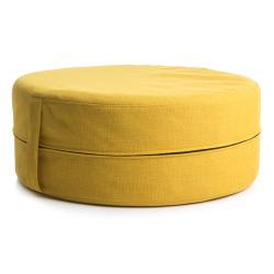 Puff gul Ø:50 cm