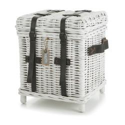 Kiste/sidebord Songvaar hvit H:50 cm