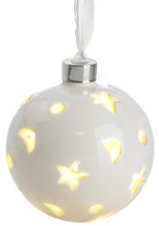 Keramikkule m/LED lys batteri