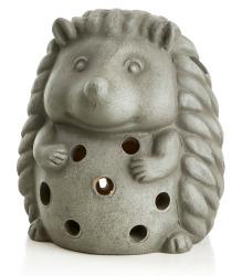 Lyktfigur pinnsvin grå