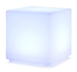 Dekorkube m/LED lys 40x40x40 cm