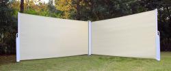 Levegg dobbel 1,6x6m hvit/beige