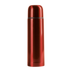 Rød ståltermos
