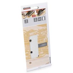 Pussepapir 5 pk K80 for maling plansliper 93 x 230 mm