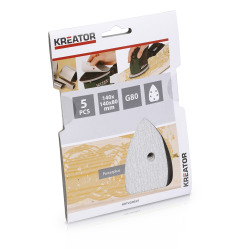 Pussepapir 5 pk K80 for maling minisliper 140 x 140 x 80 mm