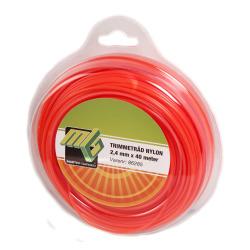 Trimmetråd 2.4 mm x 40 m