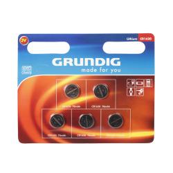 Batteri knappcelle 1620 5 pk Grundig