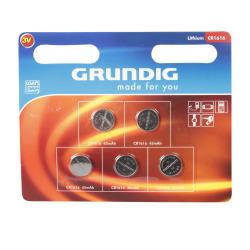 Batteri knappcelle 1616 5 pk Grundig