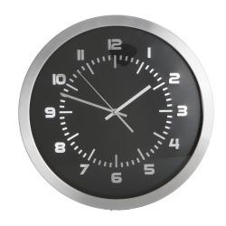 Veggklokke m/sølvkant Ø:40 cm