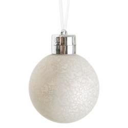 Julekuler 3 stk med LED og fjernkontroll