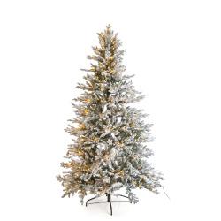 Juletre Vinje 180 cm 2776 tips m/snø og 350 LED lys