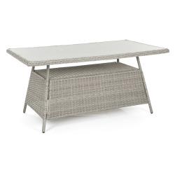 Bord Fevik grå 90x160 cm