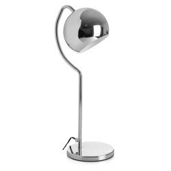 Lampe kule sølv H:50 cm