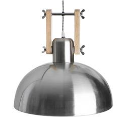 Taklampe i krommet stål