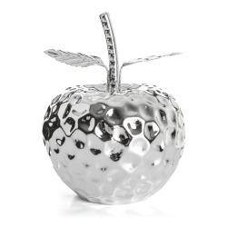 Dekoreple porselen sølv H:15,5 cm