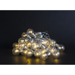 Lyslenke 30 stk lyspærer 4,65m