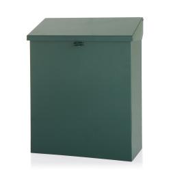 Postkasse 26x34 cm grønn