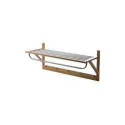 Bamboo Garderobehylle L:80 D:32 H:34 cm