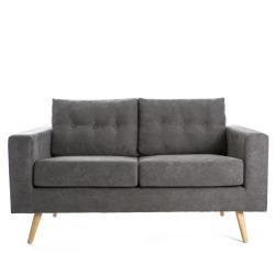 Sofa Erik 2-seter grå
