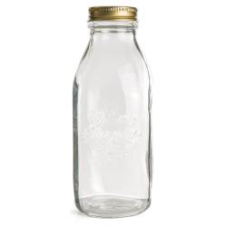 Flaske Quattro m/lokk 1 liter