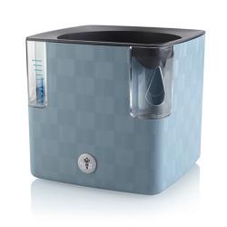 Urtepotte Cobble med selvanning blå 14cm