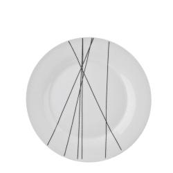 Zipper 4 pk Asjett Ø:19 cm porselen