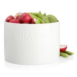 """Bolle hvit """"Snacks"""" H:10 Ø:15 cm"""